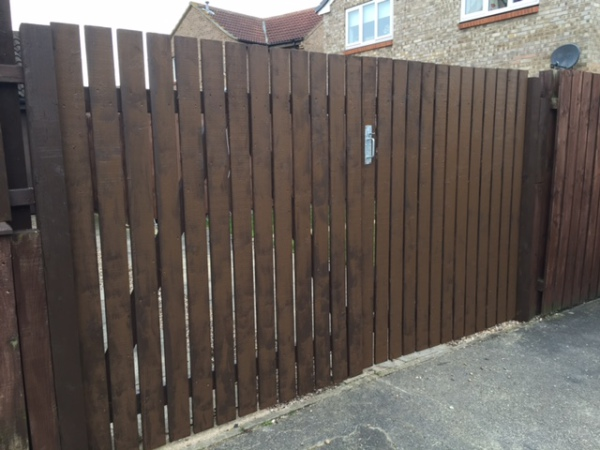 New Wooden Garden Gates