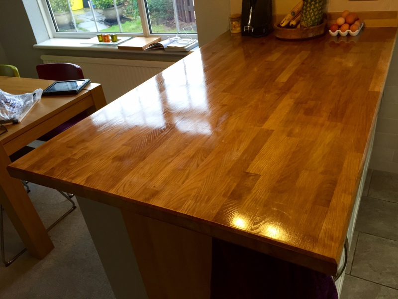 Kitchen Work Surface Varnish