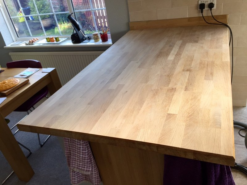 Kitchen Work Surface Refurb