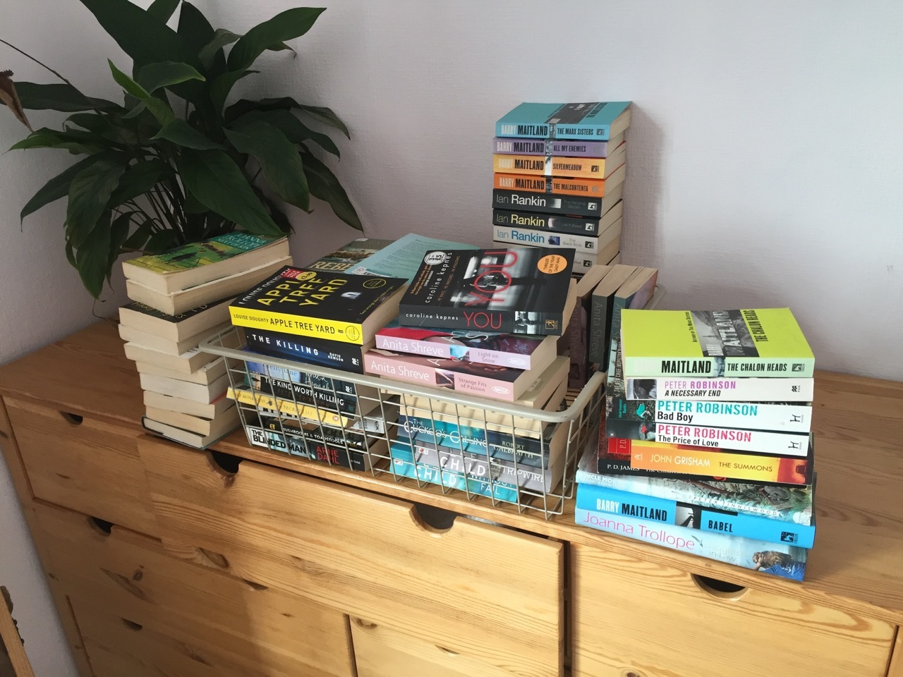 Too many books!