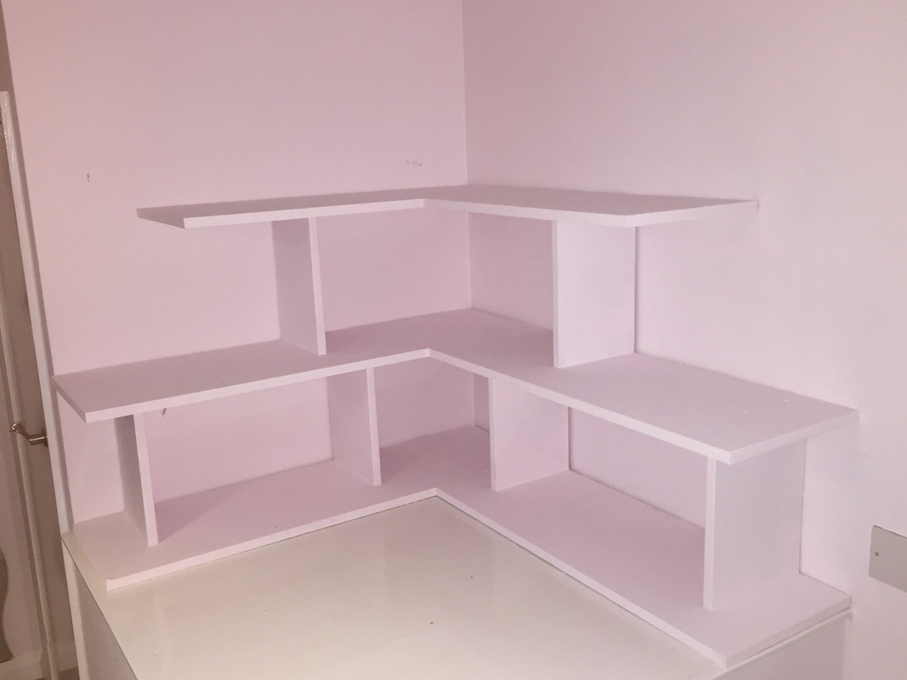 bespoke shelving unit